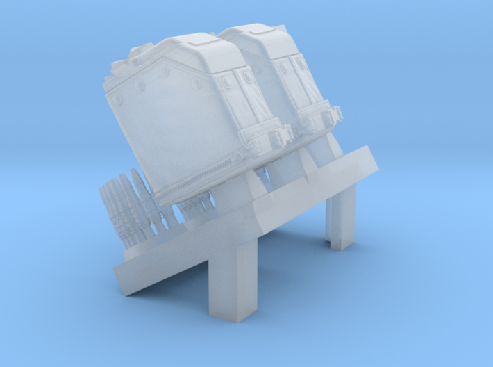 1/32 SPM-32-008 LBT MK48 Box Mag (middle) 3d printed