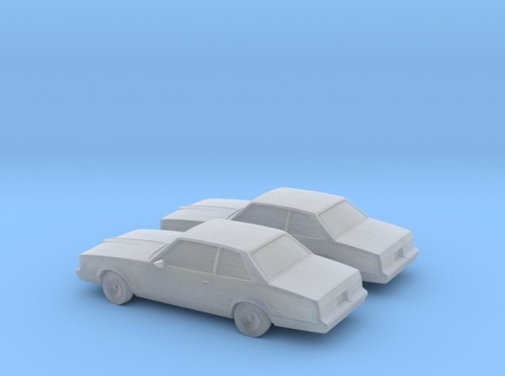 1/160 2X 1978-80 Pontiac LeMans Coupe 3d printed
