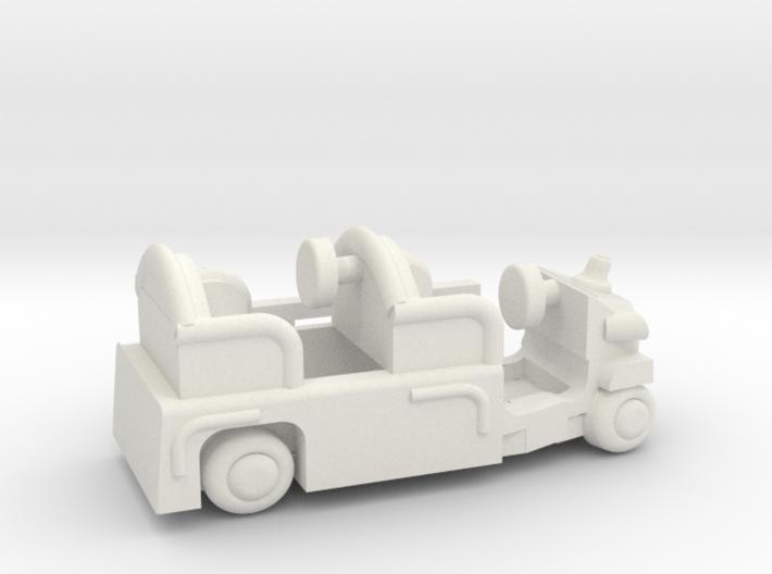 Firetruckb 3d printed