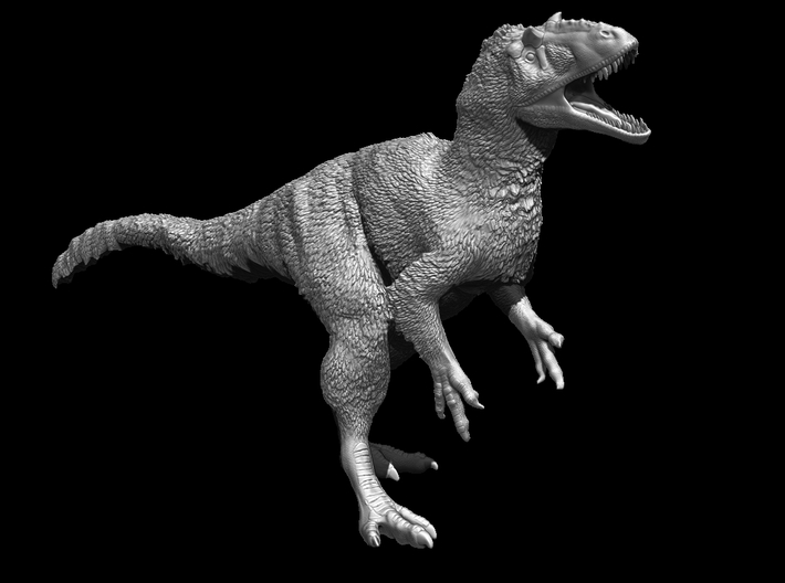 Yutyrannus 1:72 scale model 3d printed