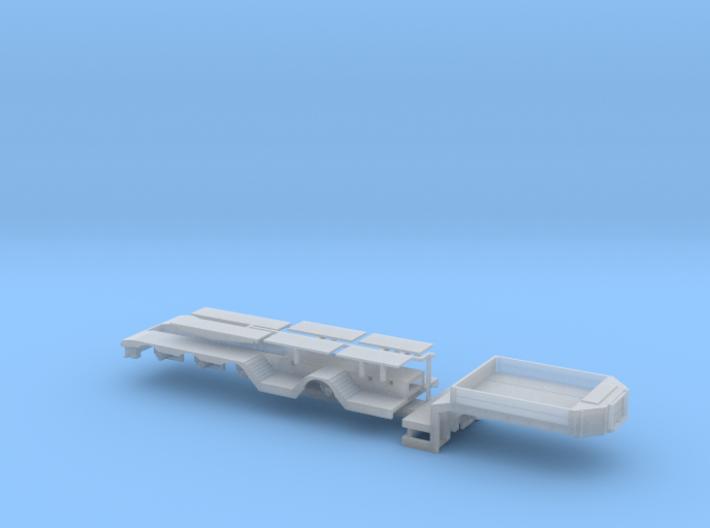 B-004 Tieflader ähnlich Broshuis ver.4 1/87 3d printed