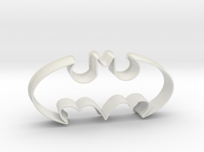 Batman 1998 - cookie cutter 3d printed