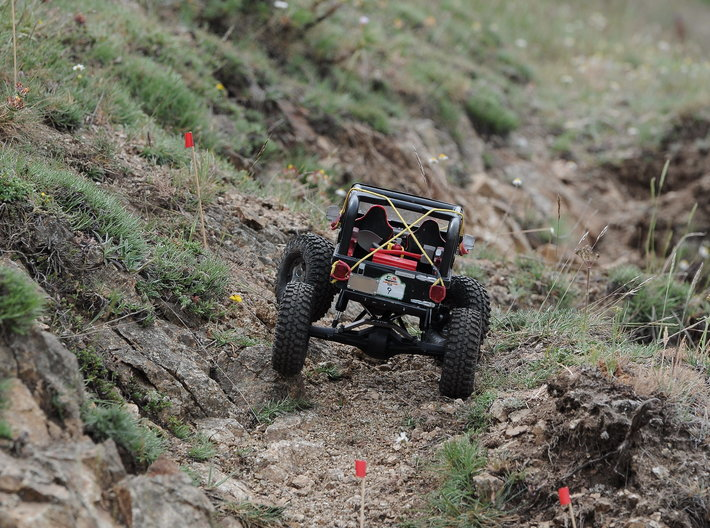 Jeep TJ by Bruder-Scaler custom kit for Axial Scx 3d printed