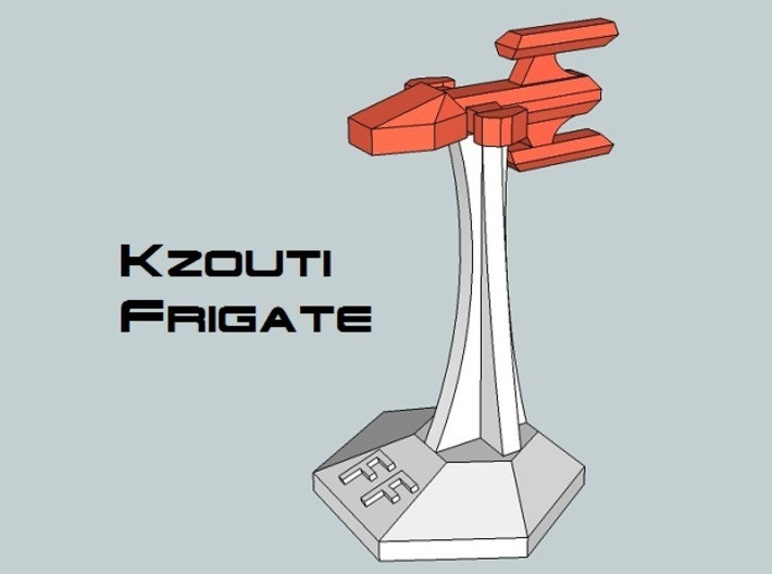 MicroFleet Kzouti Fast Attack Group (14 Pcs) 3d printed