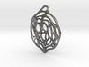Concentric Circles Pendant 3d printed