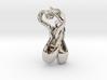 Pointe Shoe Pendant 3d printed