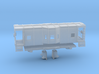 Z Scale B&O Wagontop Cab 3d printed