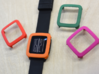 Pebble Time / Time 2 cover / bumper 3d printed Every day i'm shuffling..