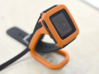 Charging dock for Pebble Time, Steel, Time 2, etc! 3d printed Different side view (have you noticed the sleek bumper design?)