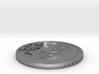 1 Lunaro Sterling 2013, age of aquarius, coin. 3d printed