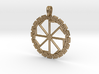 Kolobrat-kolovrat Slavic Pagan Ancient Sun Symbol 3d printed