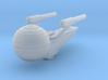 USS Pascal 1/7000 3d printed