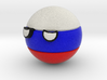 Countryballs Russia 3d printed Countryballs Russia- Full Color Sandstone