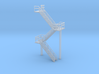 N Scale Staircase 60.4mm 3d printed
