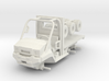 1/64 Scale MULE Ambulance Chassis 3d printed