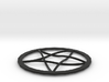 Pentagram Pendent 3d printed