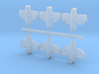 2400 Rev Flotilla 1xPFL 3xPF 1xPFS 1xPFP 3d printed