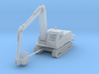 Tracked Backhoe Z Scale 3d printed tracked Backhoe Z scale