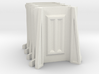 Sci-Fi Barrier / Wall / Corridor Corner (Set x4) 3d printed