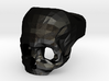 Black Metal Skull Ring by Bits to Atoms 3d printed
