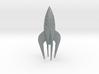 Retro Rocket Miniature 3 3d printed