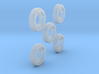1-64 Solid Tire 1200x20 - 5 Units 3d printed