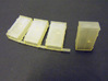 OO Gauge Location Cabinets 3d printed Actual set of 4 with one removed