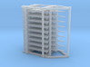 GSE Airport Baggage Container Cart 1:200 (9pc) 3d printed