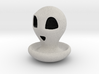Halloween Character Hollowed Figurine: AmazedGhost 3d printed