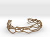 Bracelet abstract #5 medium size 3d printed