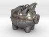 Steampunk Piggy Bank 4 Inch Tall 3d printed