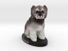 Custom Dog Figurine - Cookie 3d printed