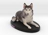 Custom Dog Figurine - Jasmine 3d printed