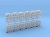 SP Nose Cluster (HO - 1:87) 12X 3d printed