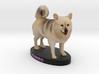 Custom Dog Figurine - Gumbo 3d printed