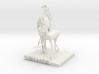 Alexandr ,his horse 3d printed