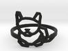 Petite Cat Ring 3d printed