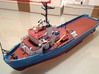 MV Anticosti, Details 2/2  (1:200, RC ship) 3d printed photo of completed model (painted)