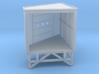 N Angular Dockshelter Right w/ rear wall 3d printed