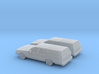 1/160 2X 1982-85 Chevrolet Caprice Classic Station 3d printed