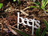 Beets - Garden Sign 3d printed