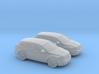 1/160 2X 2007 Dodge Caliber 3d printed