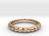 Geometric pattern ring(Japan 10,USA 5.5,Britain K) 3d printed
