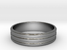Back to Basic Collection - Round beveled ring 3d printed