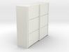 A 016 sliding closet Schiebeschrank 1:87 3d printed