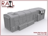 N Scale Class 08/9 3d printed Render of the assembled 08/9 model.