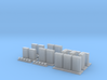 N Scale Lineside Electrical Cabinets 3d printed