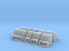 1/64th Saddle frame toolbox builders pack of 8 3d printed