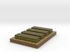 Minecraft village farm plant 3d printed