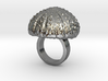Urchin Statement Ring - US-Size 2 1/2 (13.61 mm) 3d printed